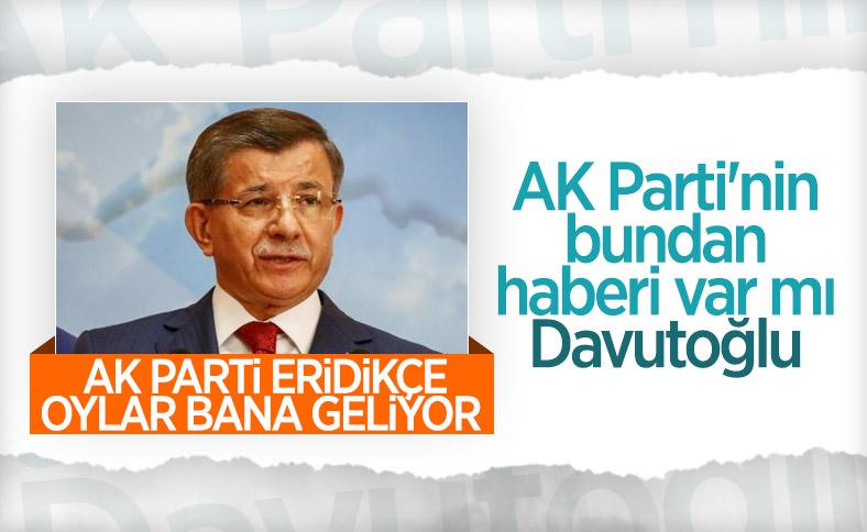 Ahmet Davutoğlu'ndan iddialı açıklamalar