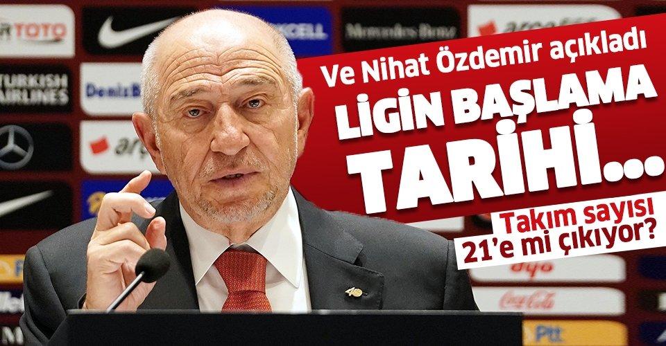 TFF Başkanı Özdemir: Süper Lig'in 12 Haziran'da başlaması için 18 kulüp mutabakata varmış durumda