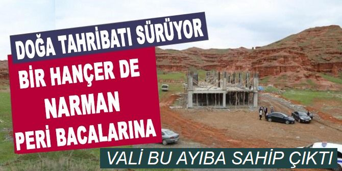 Erzurum Valisi bu ayıba sahip çıktı!