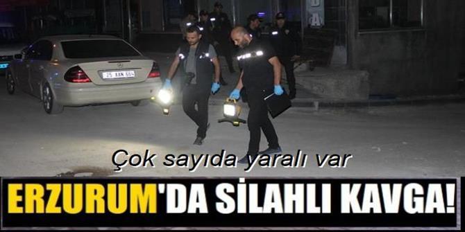 Erzurum'da silahlı kavga: