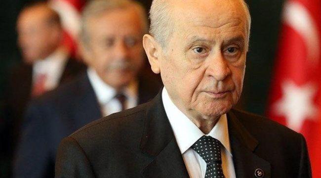Siyasi Partiler Kanunu'yla ilgili MHP lideri Devlet Bahçeli'den açıklama