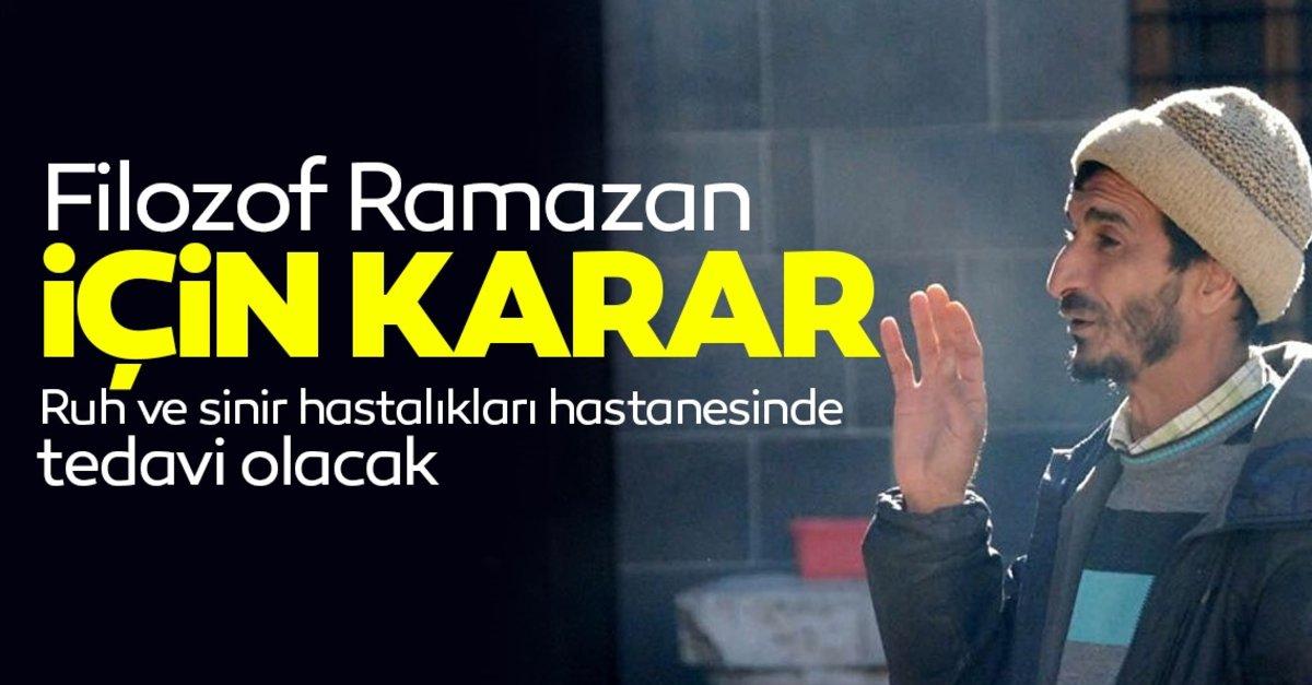 """""""Filozof Ramazan"""" hastanelik oldu"""