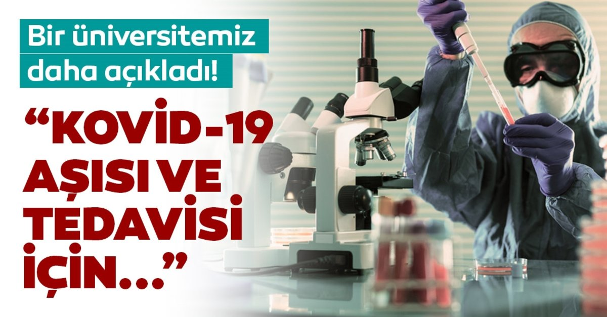 Atatürk Üniversitesinden aşı çalışması
