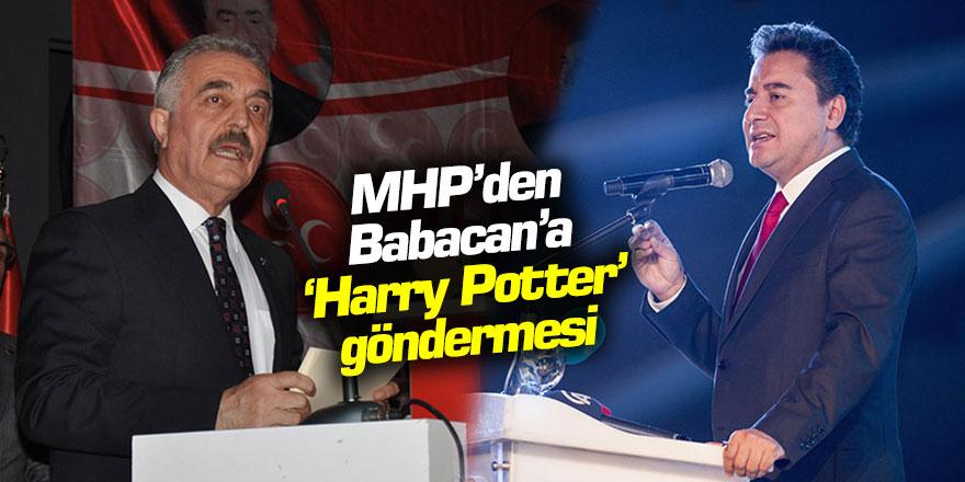 MHP'den Babacan'a Harry Potter göndermesi
