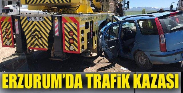 Otomobil vince çarptı: 1 ölü