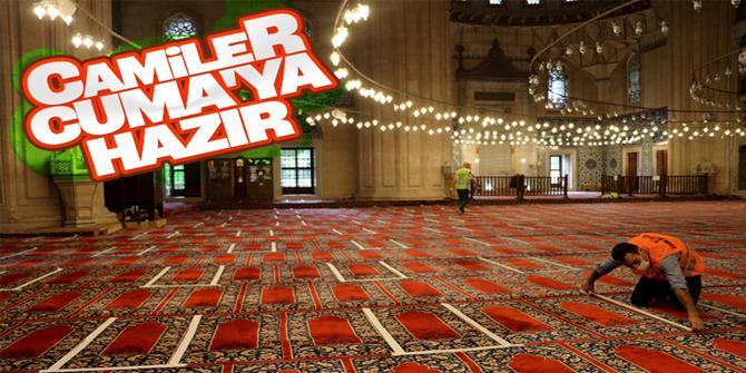 Selimiye Camii, ibadete hazır hale getirildi