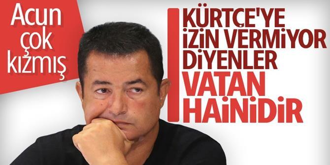 Cüneyt Özdemir'den Acun Ilıcalı'ya Kürtçe sorusu