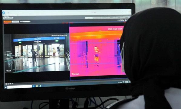 Kovid-19 tespiti için yerli termal kamera geliştiriliyor
