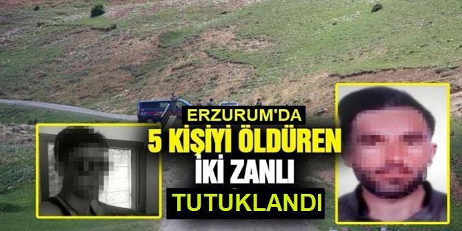 Erzurum'da katliam yaptılar: TUTUKLANDILAR