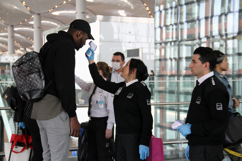 Muğla'daki havalimanlarında yurt dışı yolculara test