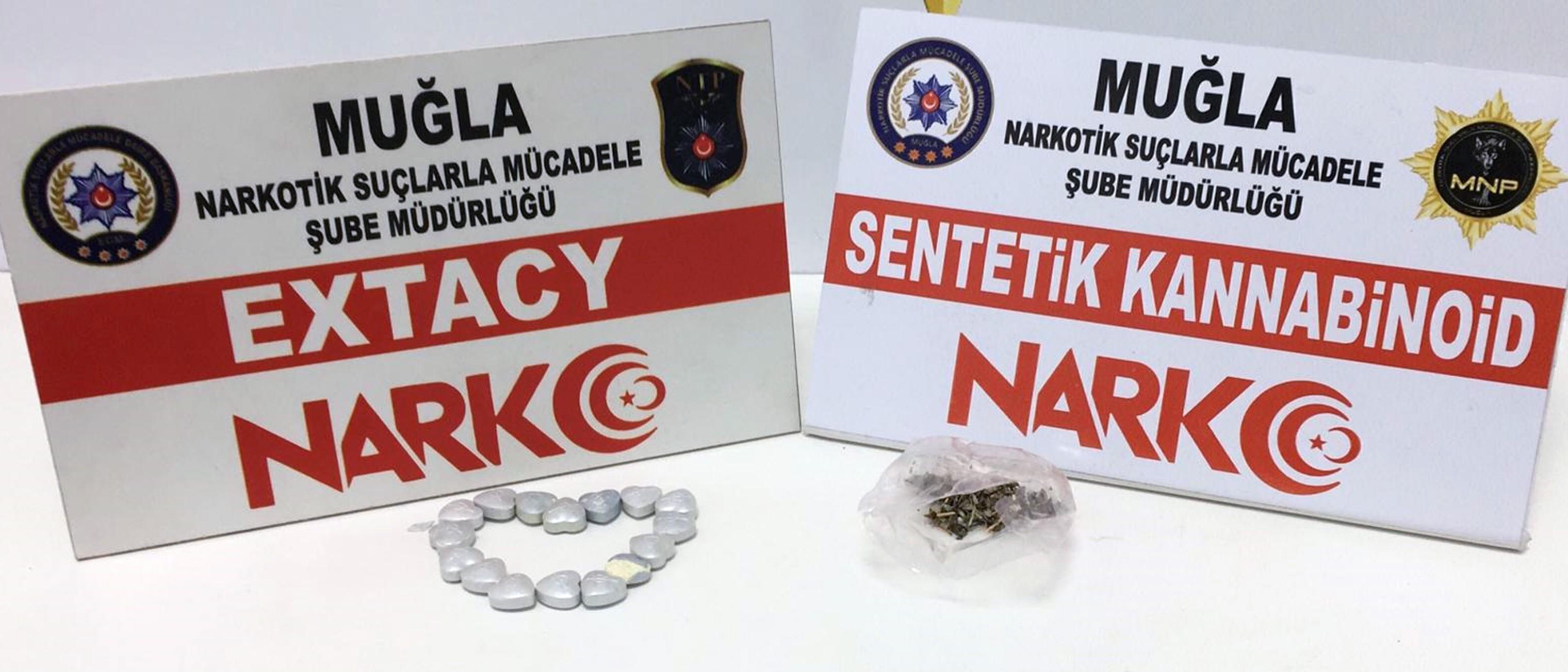 Muğla'da taş kokain ele geçirildi