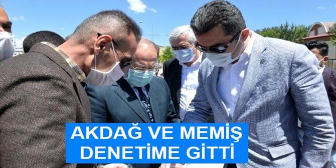 Milletvekili Akdağ ile Vali Memiş, Erzurum Şehir Hastanesini gezdi