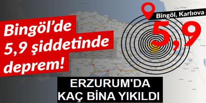 Erzurum Valisi Memiş, bilançoyu açıkladı