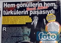 Türkü Paşa'ya sayfa yaptılar!