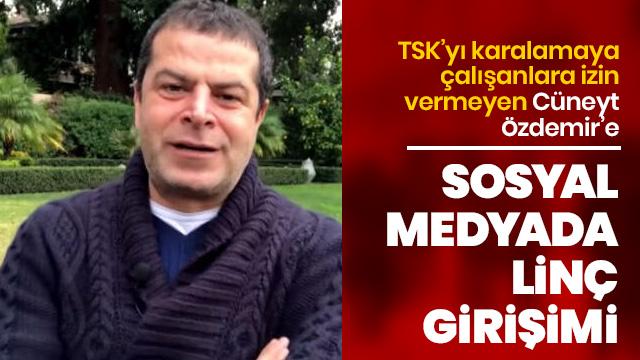Özdemir, TSK'Ya yönelik suçlamaları kaldırınca linç edilmeye başlandı