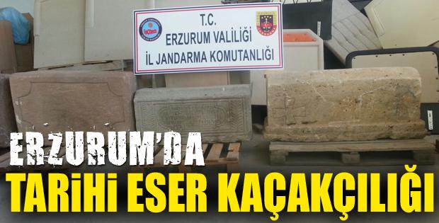 Erzurum'da tarihi eser kaçakçılığı: 1 Kişi tutuklandı