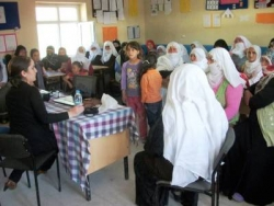 Hınıs'ta kadınlar için proje