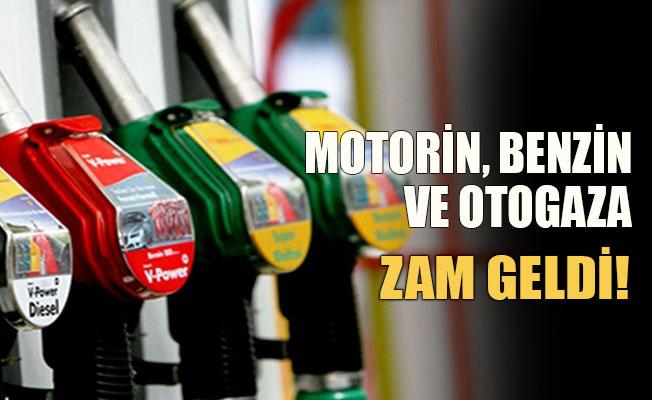 Benzin, motorin ve otogaza zam geliyor