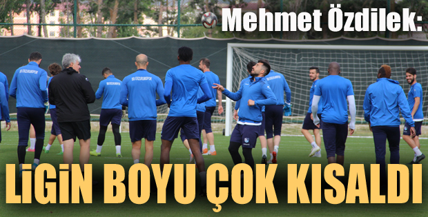 """Mehmet Özdilek: """"Puan tablosunda kaybettiğimiz noktaya geri geleceğiz"""""""