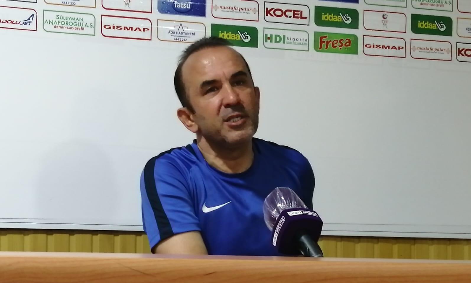 Giresunspor - BB Erzurumspor maçının ardından