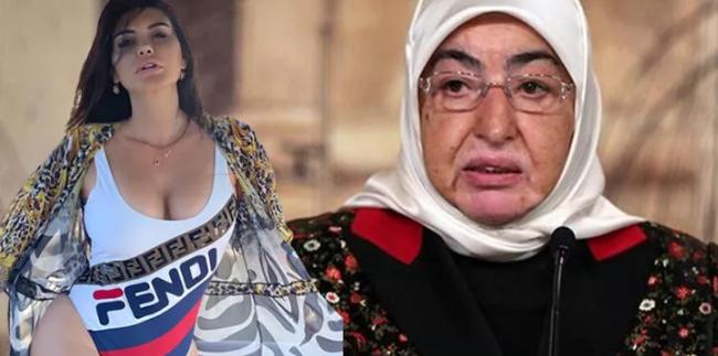 Ebru Polat'tan Semiha Yıldırım tepkisi! 'Bırak edepsizler kendileri utansın'