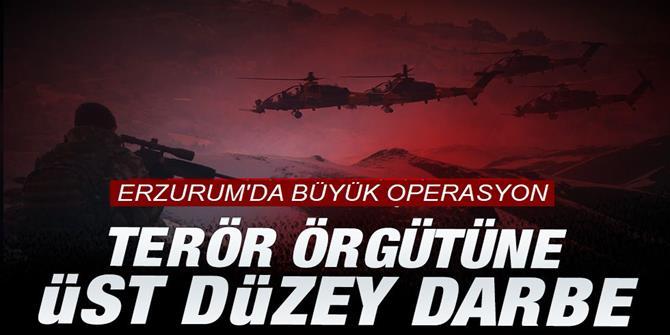 PKK'ye Erzurum'da büyük darbe: ölü ele geçirildi