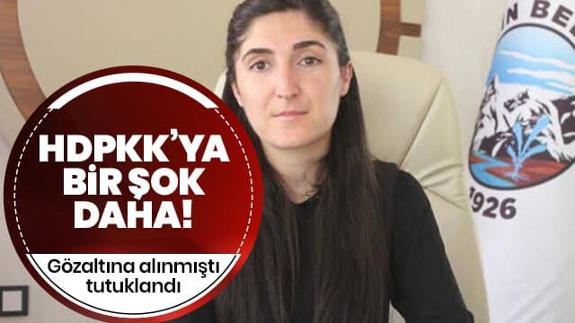 Gözaltın alınan HDPKK'lı belediye başkanı tutuklandı