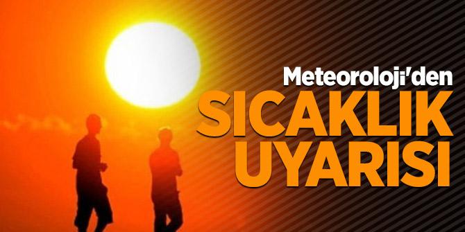 Meteoroloji'den 5 il için  sıcaklık uyarısı