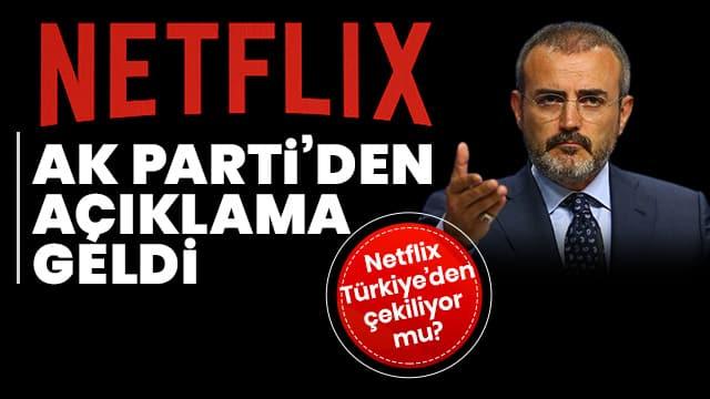 AK Parti 'Netflix' iddialarına son noktayı koydu