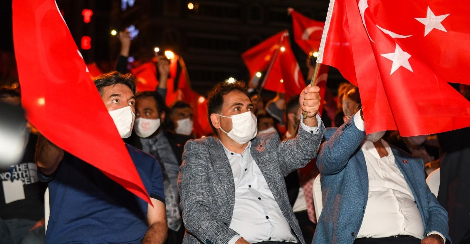 """Başkan Uçar: """"Erzurum Kongresi vatan ve bayrak sevgimizin sembolüdür"""""""