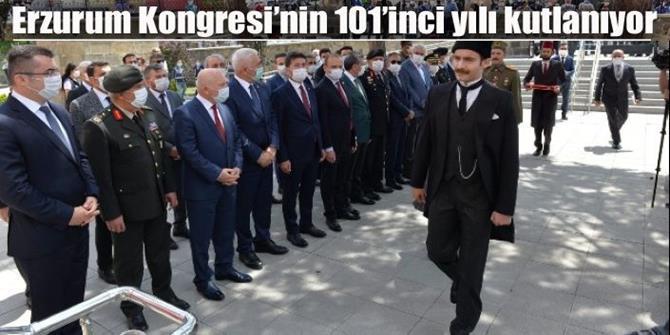 Tarihi Erzurum Kongresi 101 yıl sonra yeniden canlandırıldı