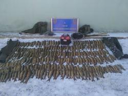 Tekman'da balık avcıları yakalandı
