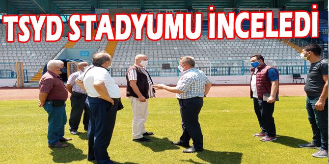 TSYD Stadyumu inceledi