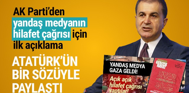 AK Parti'den skandal ''hilafet'' çağrısı için ilk açıklama