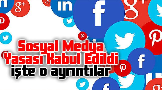 Sosyal medya düzenlemelerini içeren kanun teklifi yasalaştı