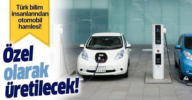 Türk bilim insanlarından elektrikli otomobil hamlesi
