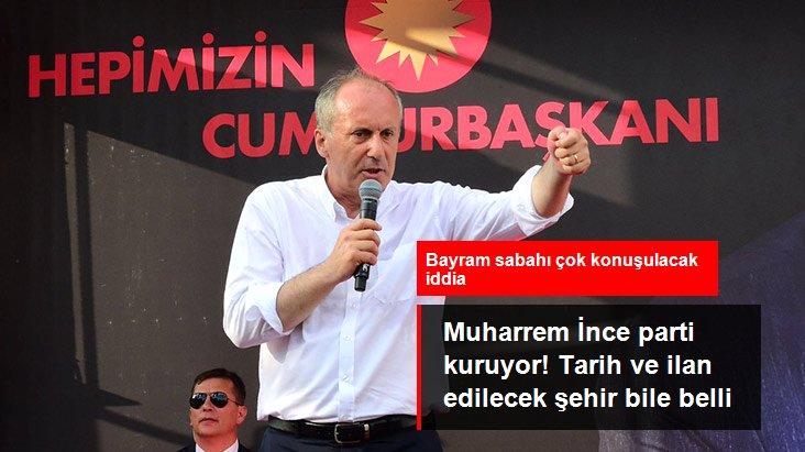 Ankara kulislerini hareketlendiren iddia: Muharrem İnce parti kuruyor