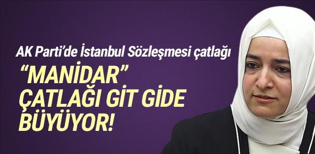 AK Parti'de ''İstanbul Sözleşmesi'' çatlağı
