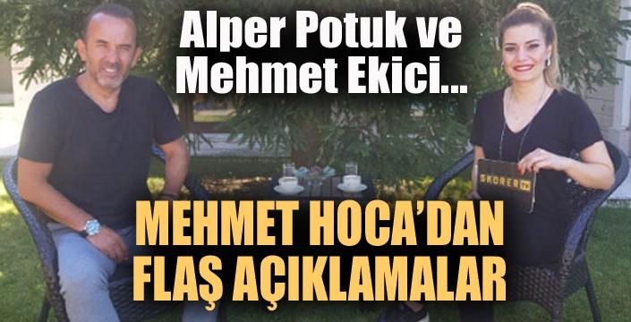 Şifo Mehmet'ten flaş açıklamalar...