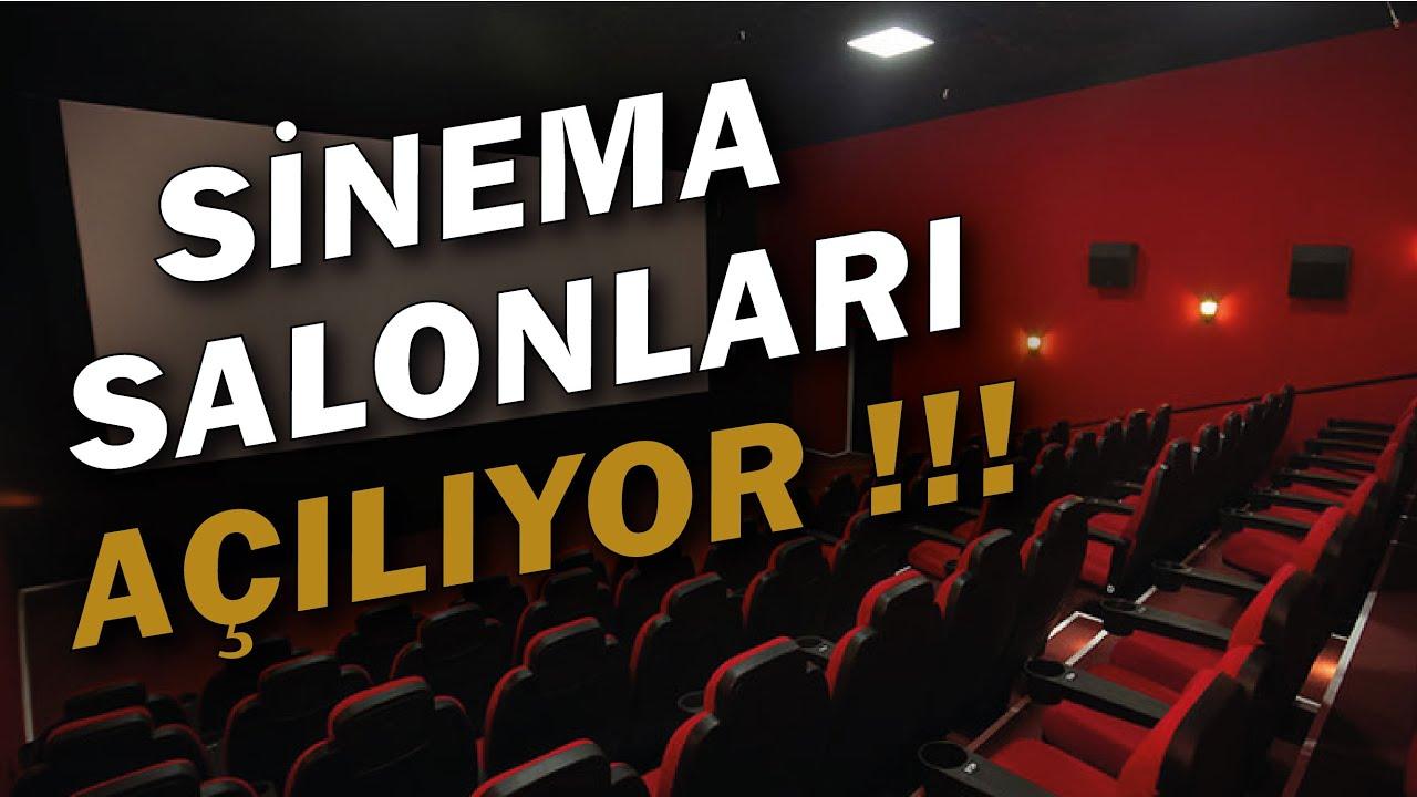 Sinema salonları bugün itibariyle açılıyor