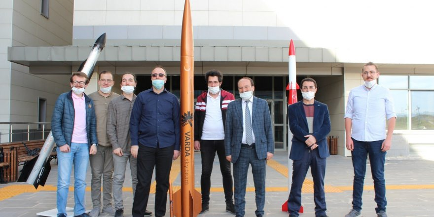 Erzurum Teknik Üniversitesi, Roket Yarışması'nda finale yükseldi