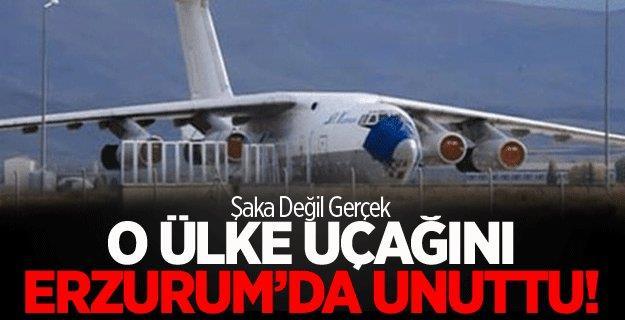 """Erzurum'un misafir uçağı"""" 9 yıldır havalimanından alınmayı bekliyor"""