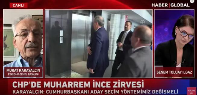 Murat Karayalçın'dan flaş 'Muharrem İnce' açıklaması