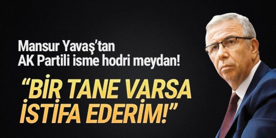 Mansur Yavaş'tan AK Partili isme ''istifa ederim'' resti!