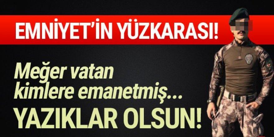 Özel Harekat Polisi Atatürk'e hakaret yağdırdı!