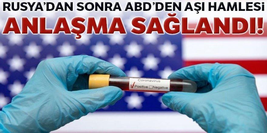 ABD ile Moderna arasında 100.000.000 dozluk aşı anlaşması