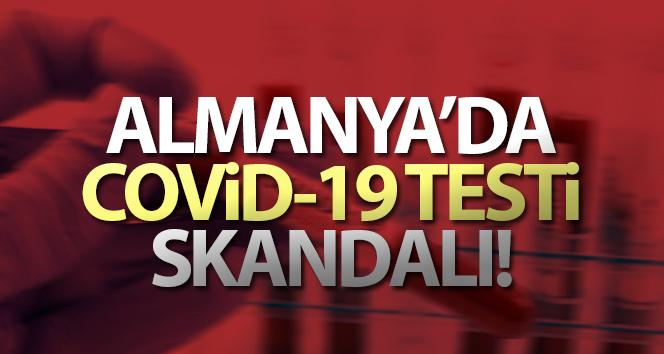 Almanya'da Covid-19 testi skandalı