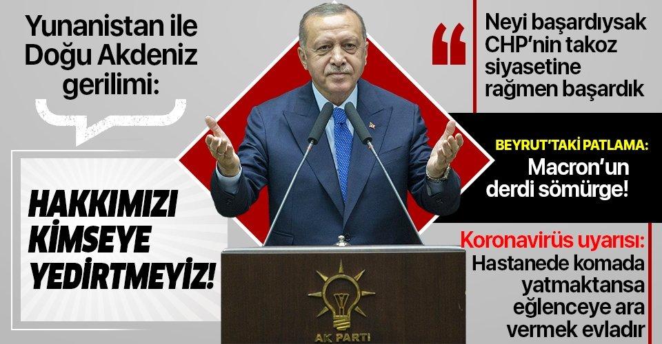 Erdoğan'dan AK Parti İl Başkanları toplantısında önemli açıklamalar