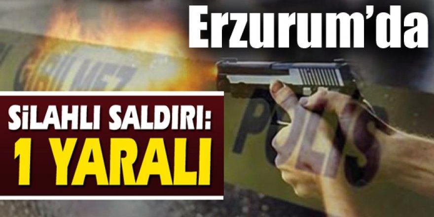 Erzurum'da komşusunu vurdu!