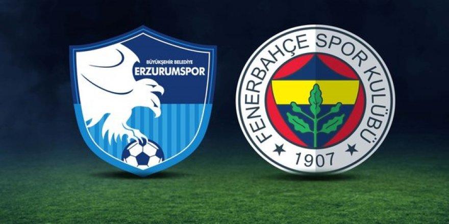 """Erzurumspor'dan Fenerbahçe'ye """"geçmiş olsun"""" mesajı"""